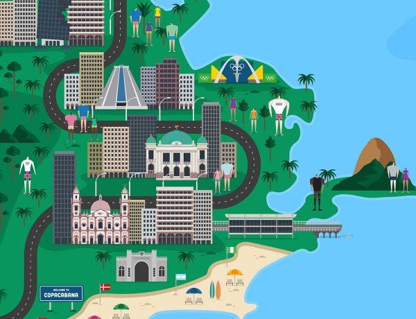 juegos olimpicos rio de janeiro 2016 mapa interactivo fiasco design loqueva