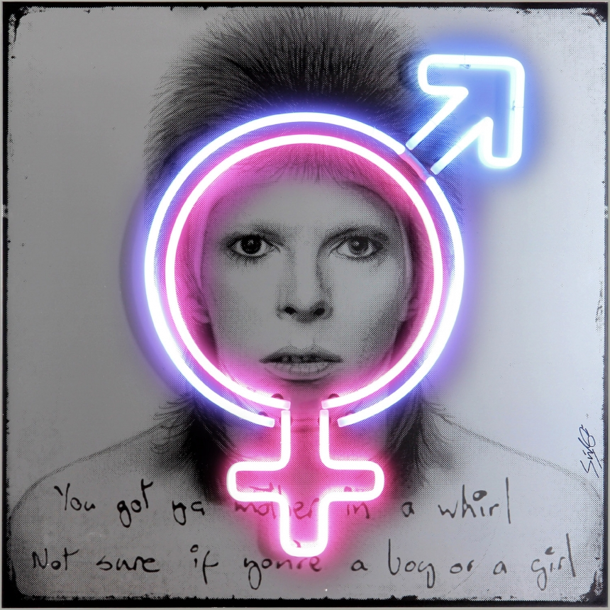 David Bowie Sex Symbol, 1973