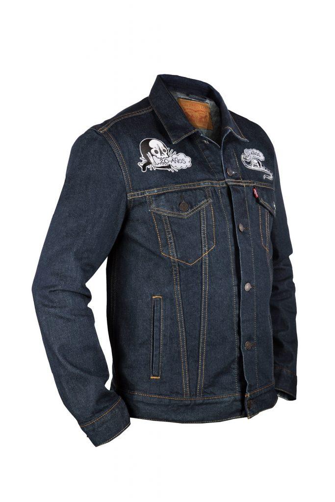 BIG CONE - Lavado negro Levi's Molotov $2980