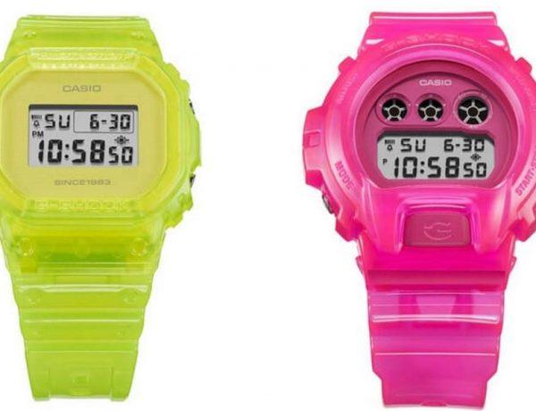 Casio lanza una colección exclusiva de G-Shock 35 aniversario NIGO® × K.IBE