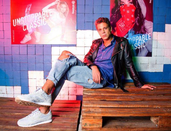 Reebok presentó su nueva campaña 'Always Classic' junto a Ludovico Di Santo