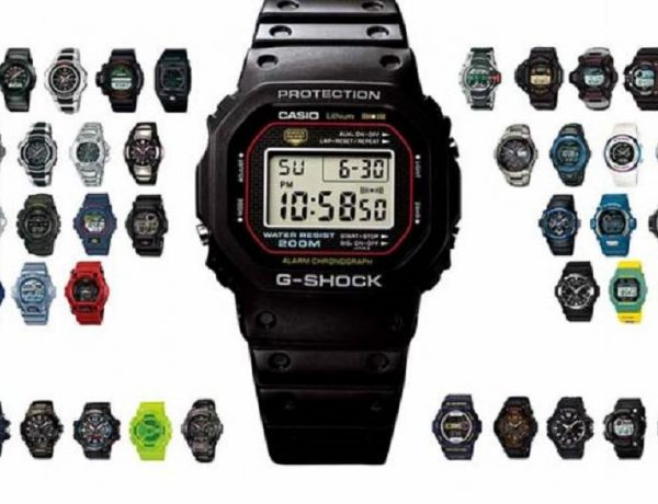 g shock time line