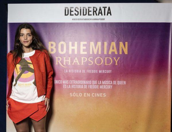 Calu Rivero en el estreno de Bohemian Rhapsody. Avant premier de Desiderata