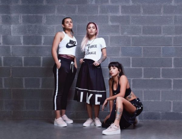 Nike Sportswear eleva las voces de 3 jóvenes audaces y decididas a través de Force is Female