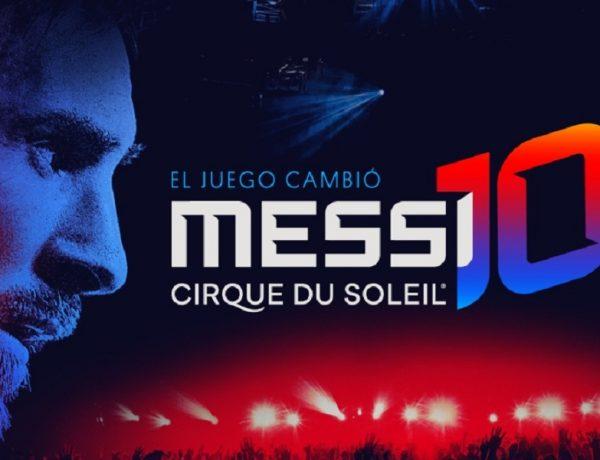 En octubre se estrena el espectáculo de Cirque du Soleil inspirado en Messi