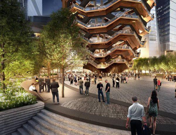 Vessel edificio Nueva York Hudson Yards loqueva