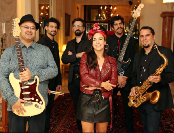 Amy Experience Robin Banerjee y No Rehab Band, parte de la banda original de Amy Winehouse
