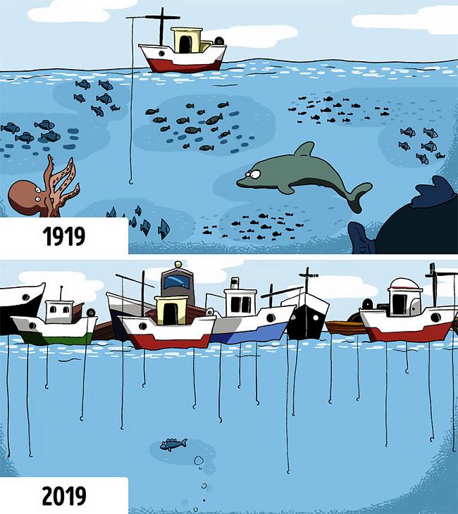 Ilustraciones que reflejan el mundo moderno (10)