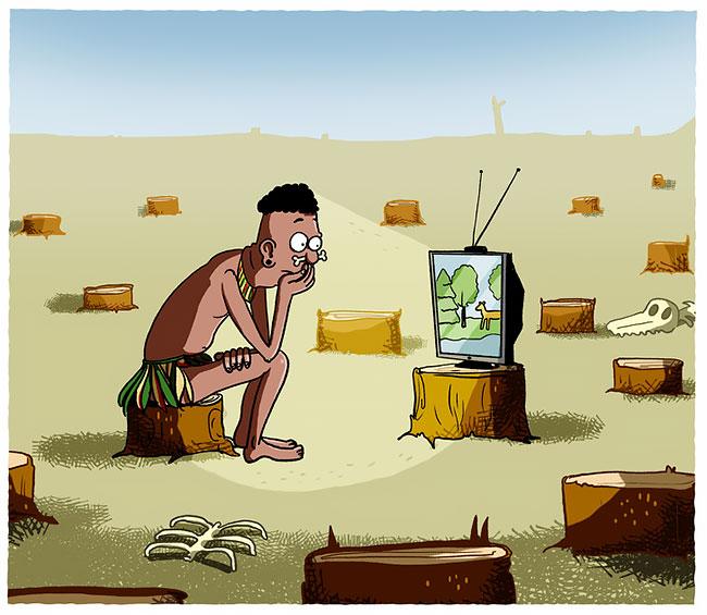 Ilustraciones que reflejan el mundo moderno (7)