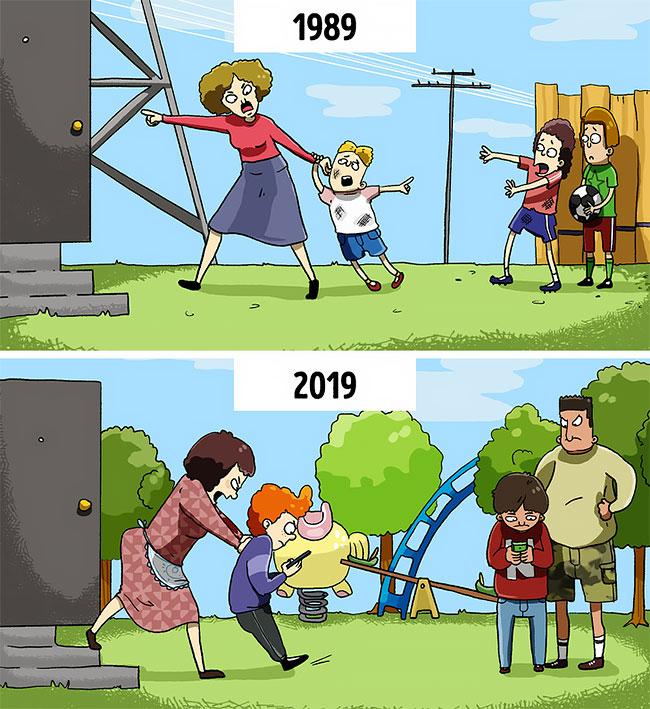 Ilustraciones que reflejan el mundo moderno (8)