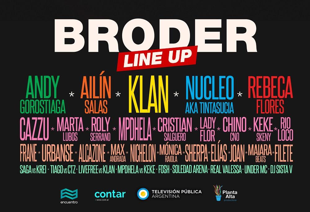 BRODER_LineUp