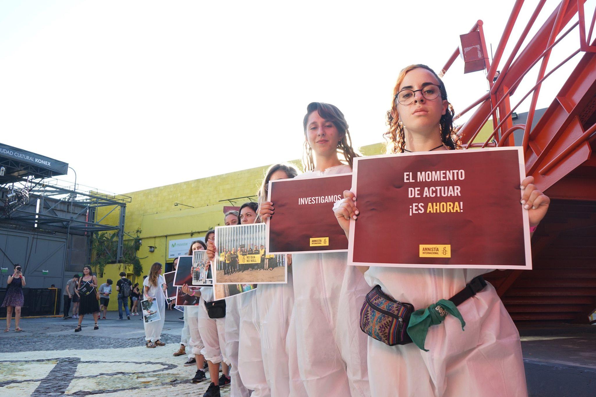 #LosTemasQueImportan, el festival de Amnistía Internacional en el Estadio Obras al aire libre (11)