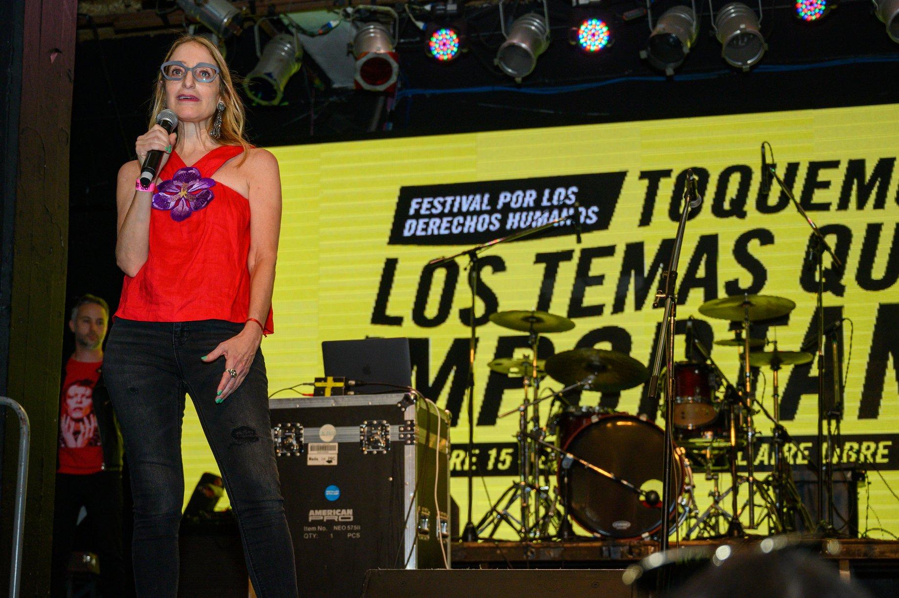 #LosTemasQueImportan, el festival de Amnistía Internacional en el Estadio Obras al aire libre (4)