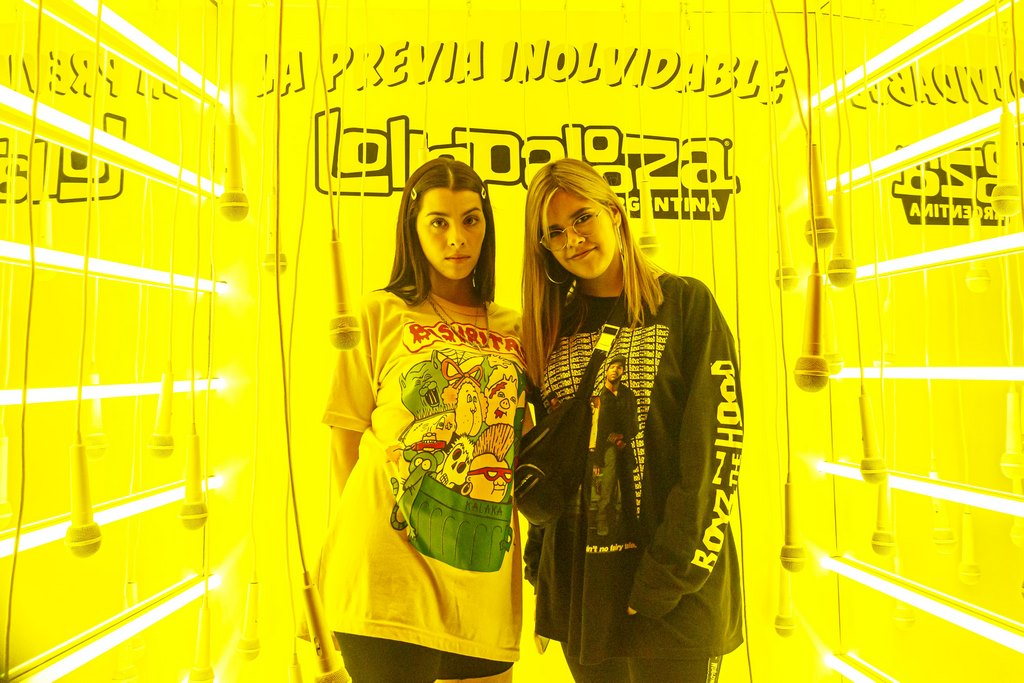 Lollapalooza shop pop up store dot shopping loqueva (7)