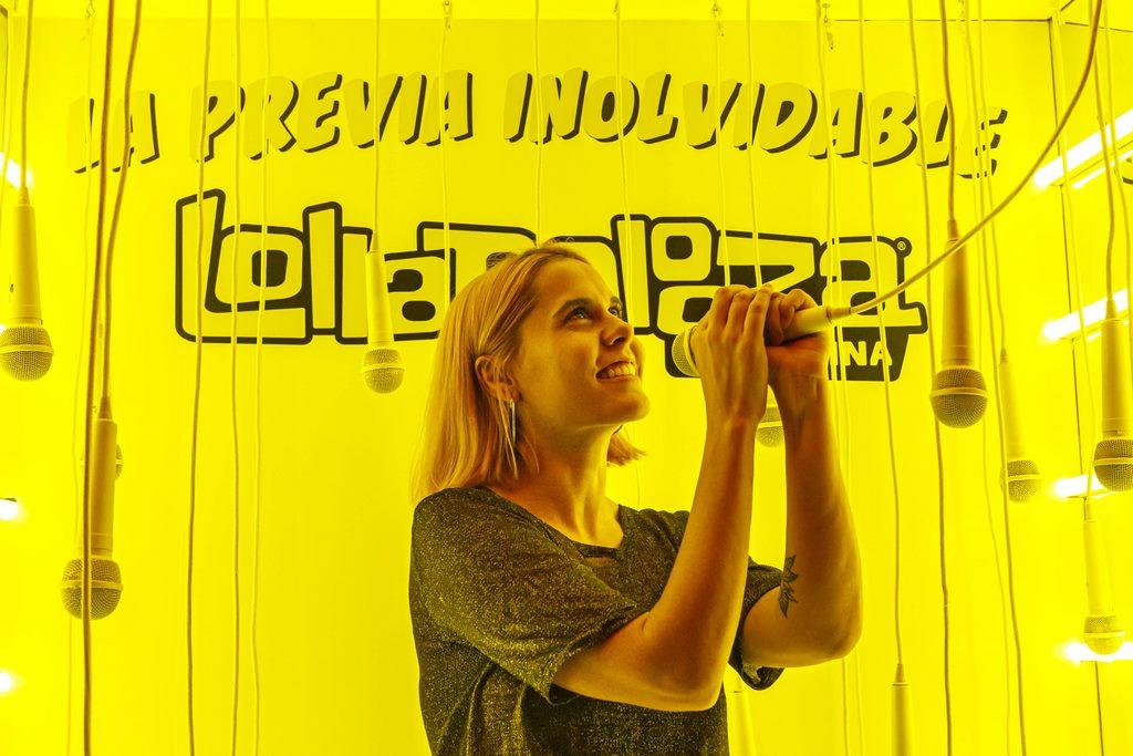 Lu Tachetti Lollapalooza shop pop up store dot shopping loqueva