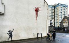 Banksy reapareció con un mural por el día de los enamorados (1)