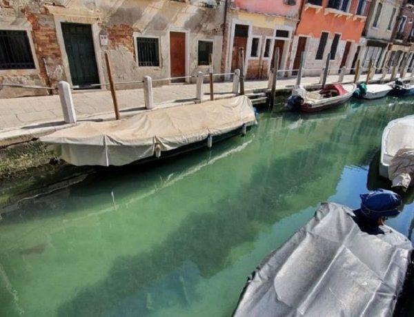 canales venecia cristalinos por coronavirus loqueva