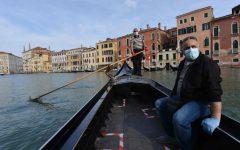 venecia regresan gondolas vacias coronavirus fotos AFP  6