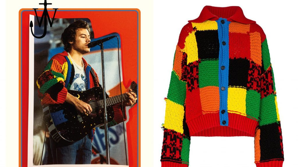 Harry Styles cardigan JW Anderson (5)