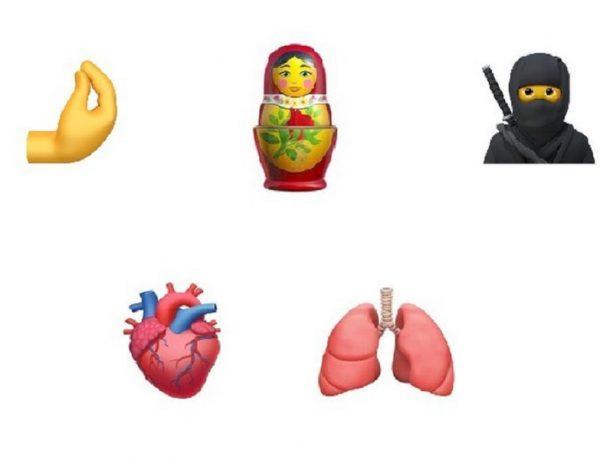 Los nuevos emojis que llegarán este año a tu celular (1)