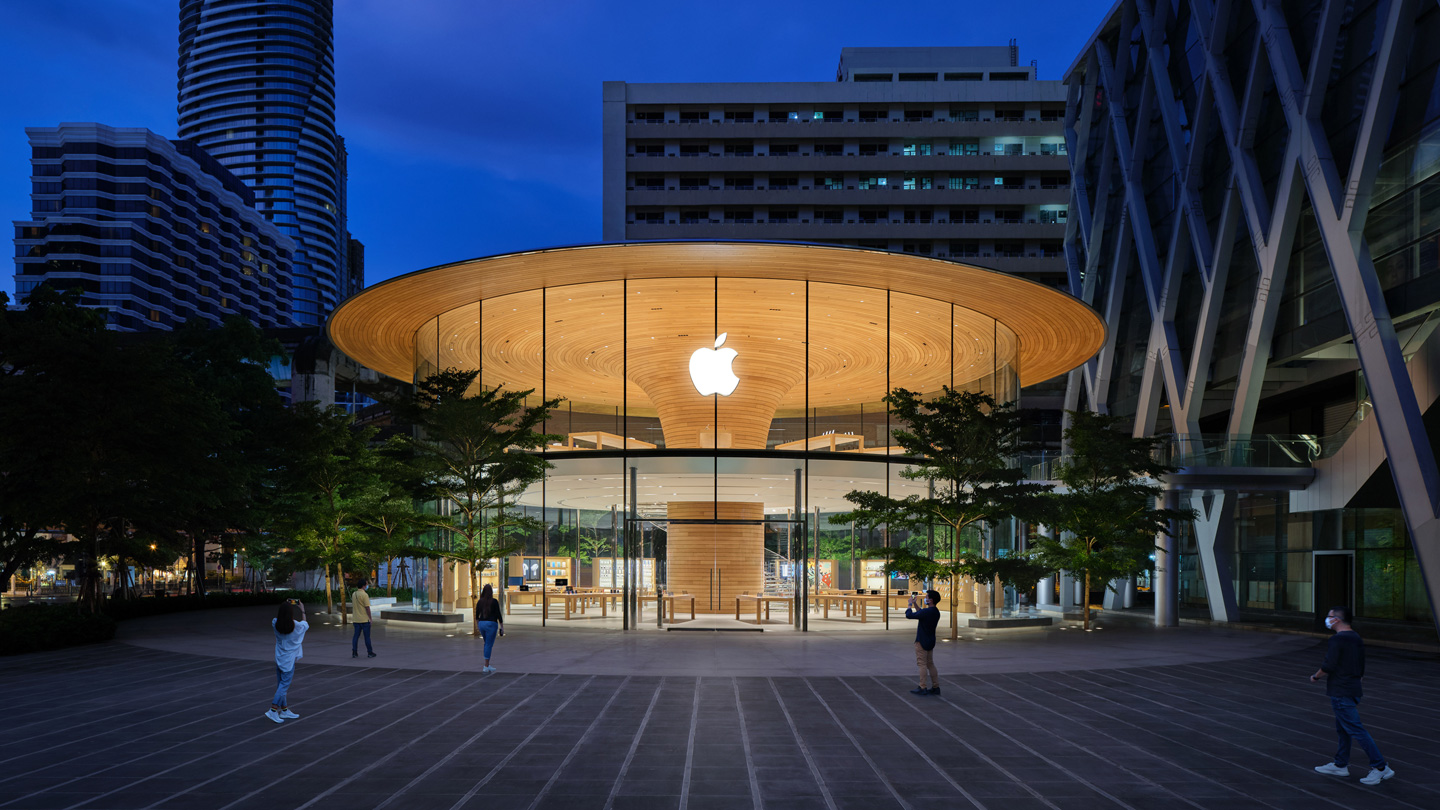 Apple World Center Bangkok Tailandia loqueva (1)