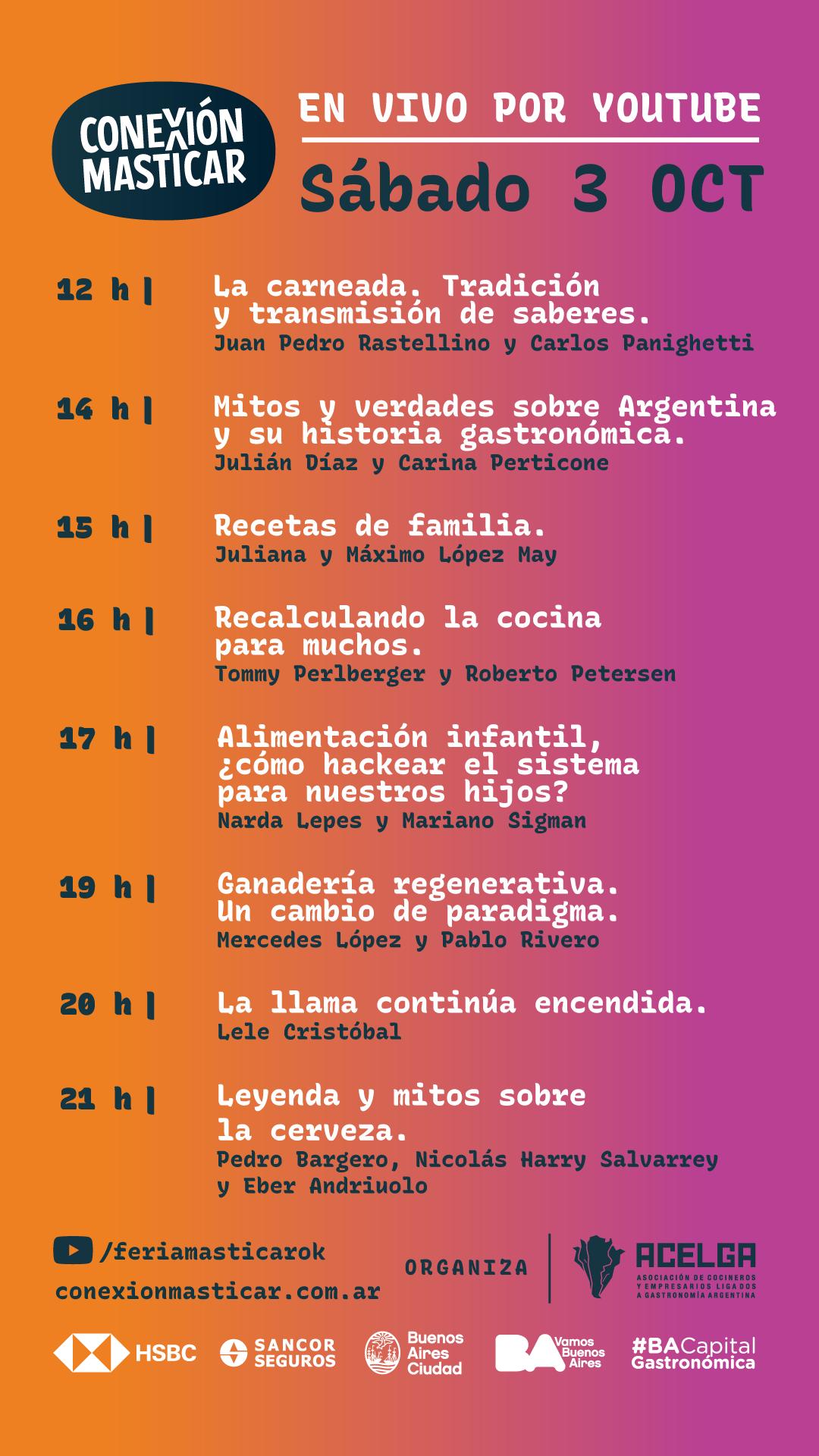 Agendá Conexión Masticar 3 y 4 de octubre, estés donde estés (2)