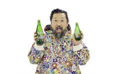 Takashi Murakami colabora con Perrier en una edición limitada de sus botellas