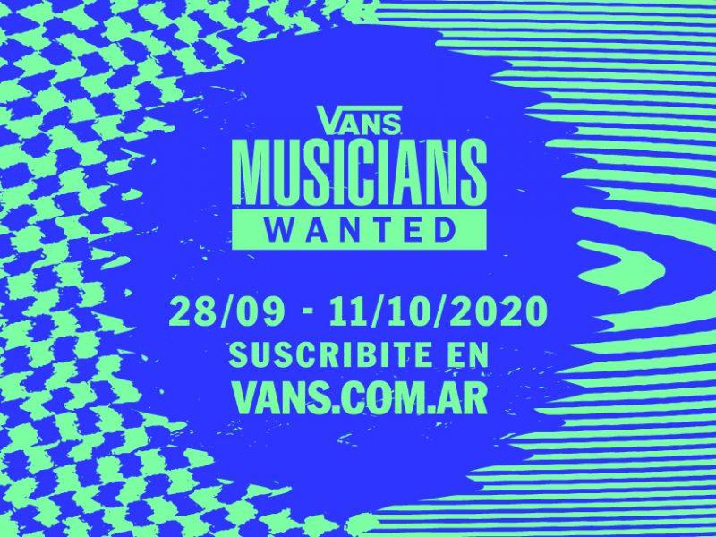 Vans Musicians Wanted La competencia donde podés llegar a tocar con Anderson  (1)