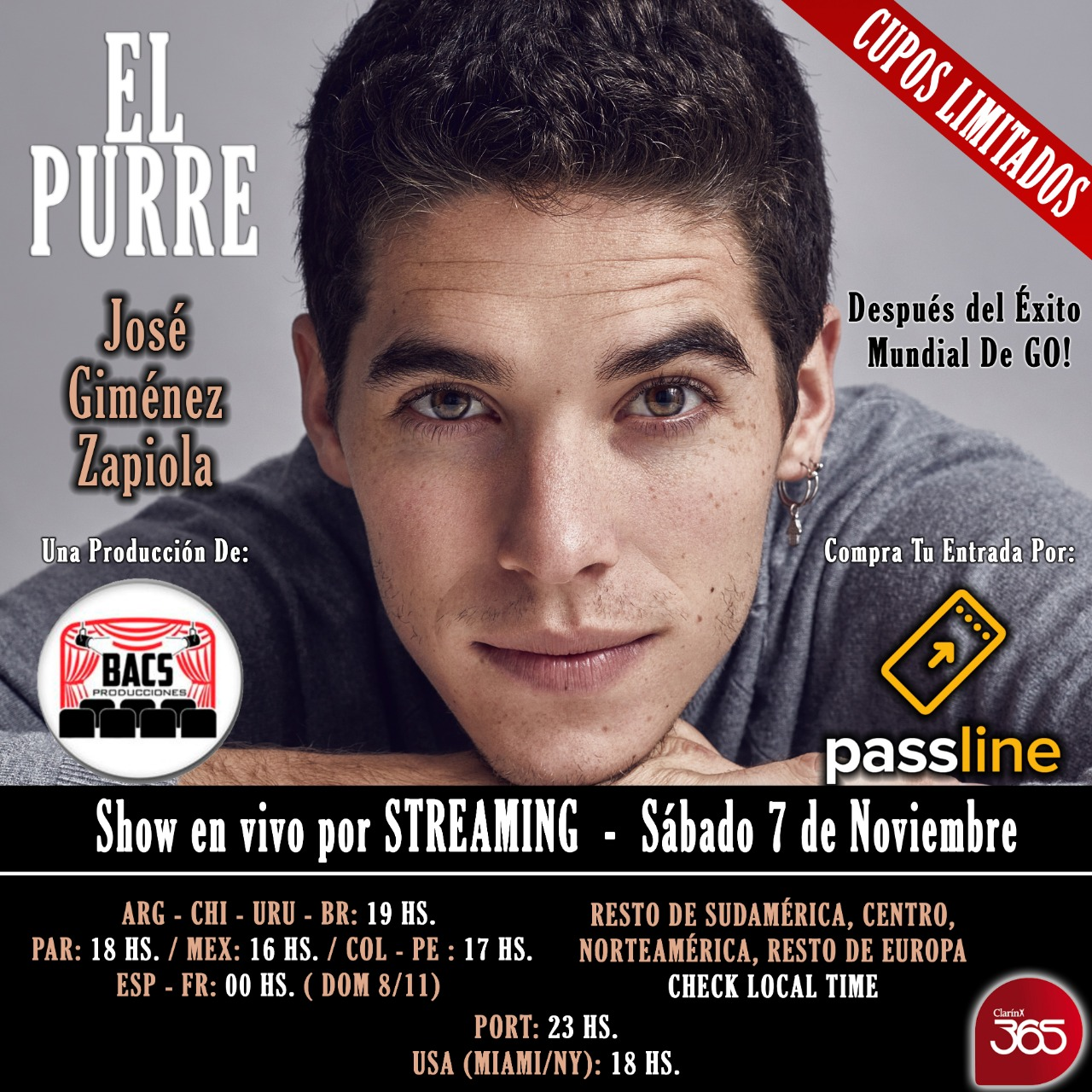 El Purre presenta un show en formato acústico por Streaming (2)