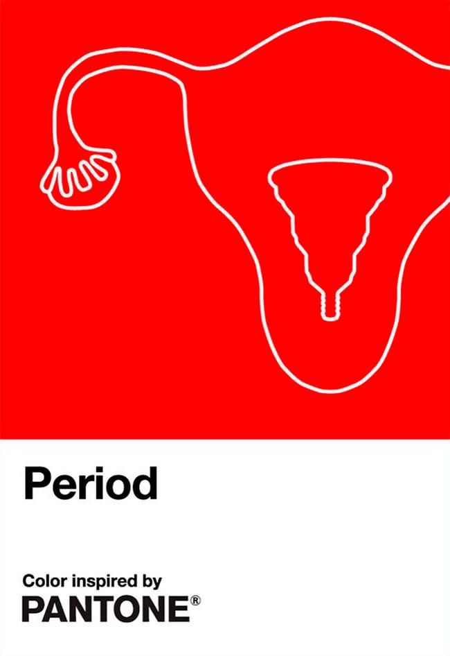 Pantone acaba de lanzar su color rojo período (1)