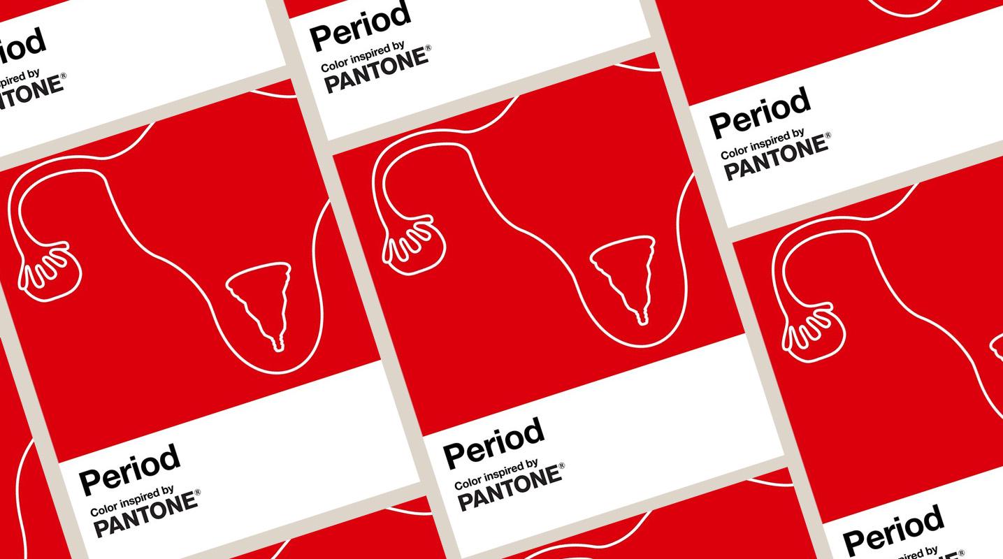 Pantone acaba de lanzar su color rojo período (2)