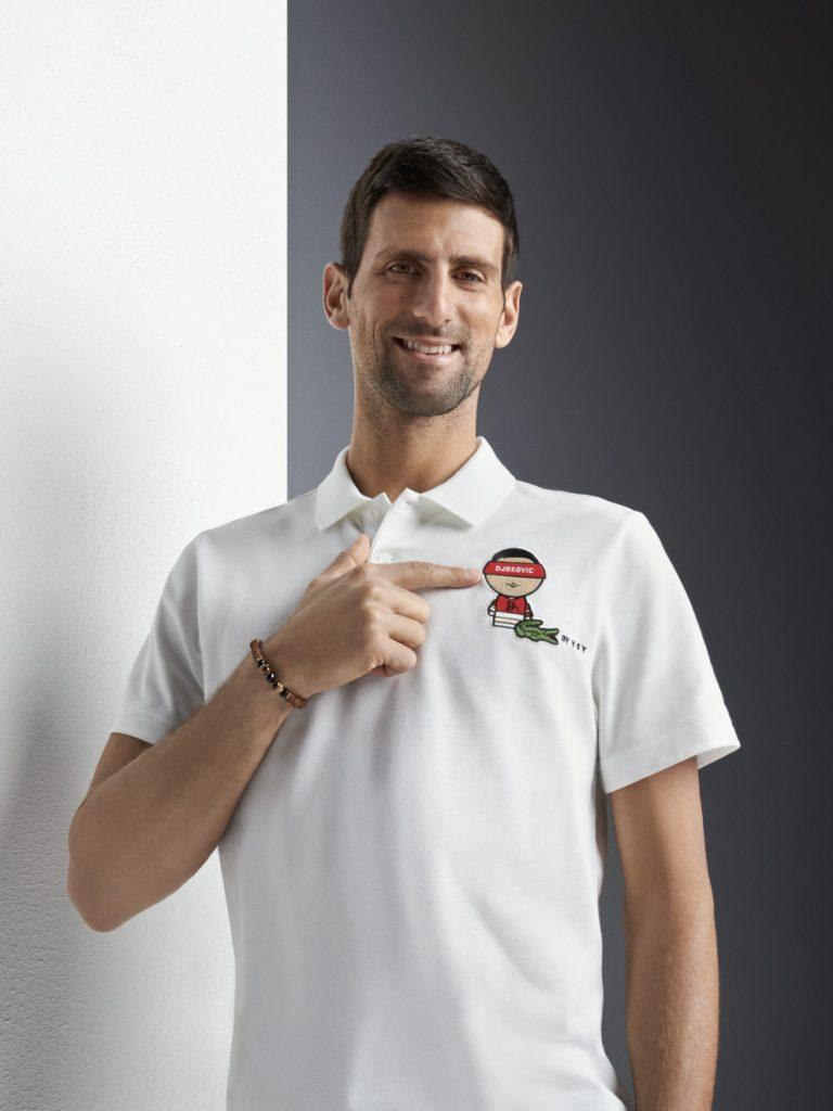 Lacoste presenta una colección única con la imagen de su jugador estrella Novak Djokovic (3)