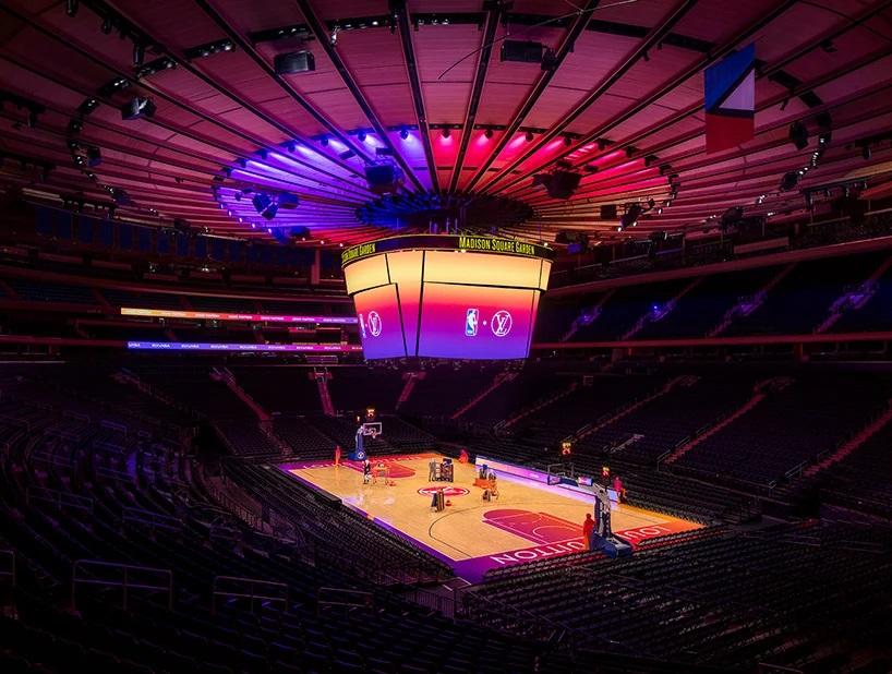 Louis Vuitton y la NBA transformaron el Madison Square Garden experiencia compra virtual (1)
