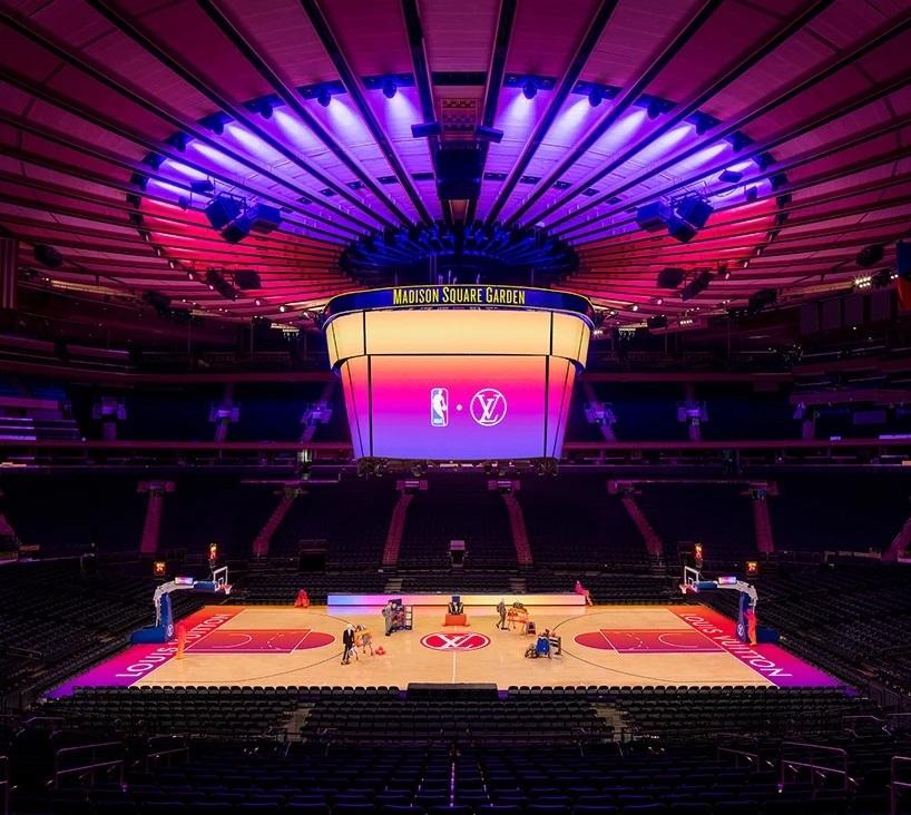 Louis Vuitton y la NBA transformaron el Madison Square Garden experiencia compra virtual (14)