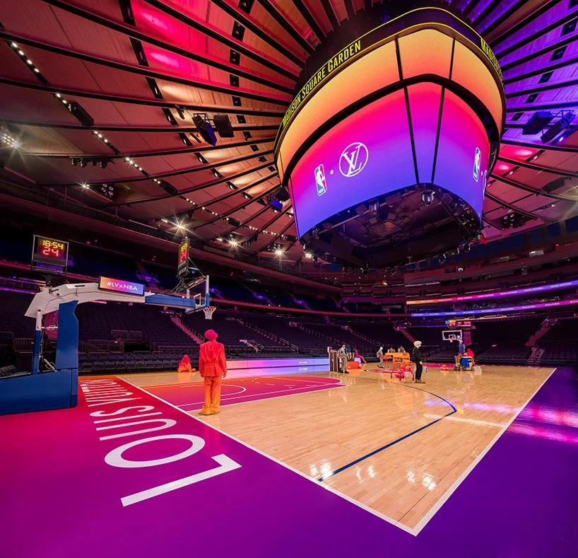Louis Vuitton y la NBA transformaron el Madison Square Garden experiencia compra virtual (2)