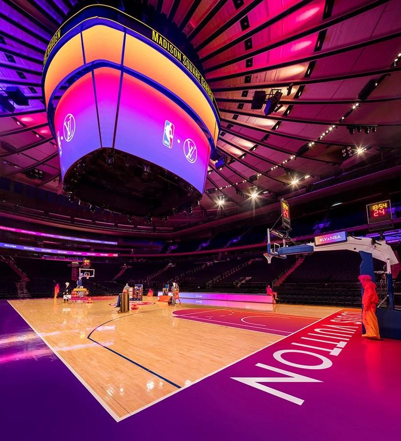 Louis Vuitton y la NBA transformaron el Madison Square Garden experiencia compra virtual (3)