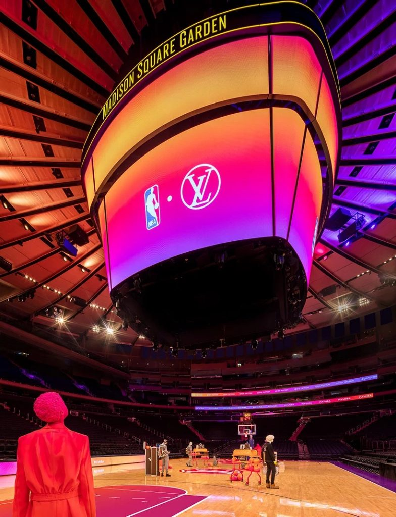 Louis Vuitton y la NBA transformaron el Madison Square Garden experiencia compra virtual (4)