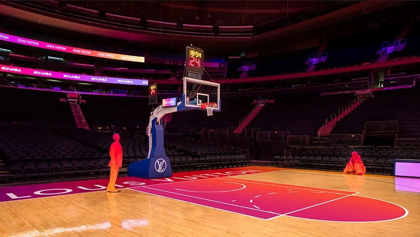 Louis Vuitton y la NBA transformaron el Madison Square Garden experiencia compra virtual (5)