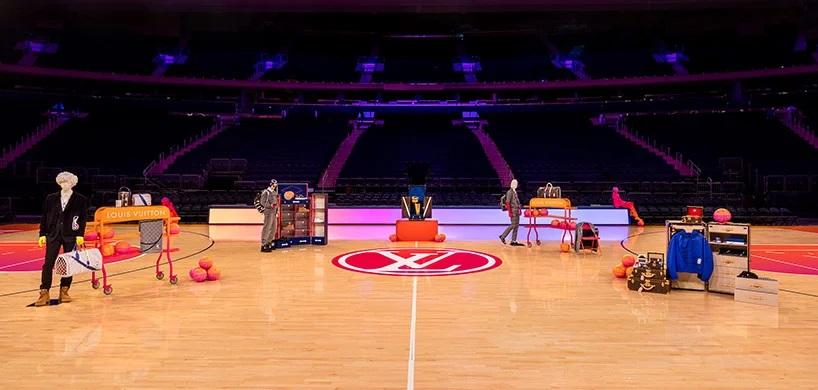 Louis Vuitton y la NBA transformaron el Madison Square Garden experiencia compra virtual (7)
