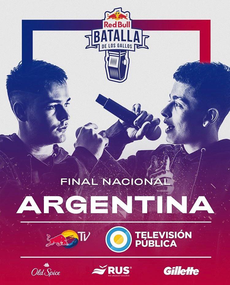 Por primera vez, la final nacional de Red Bull Batalla de los Gallos, en vivo por la TV Pública