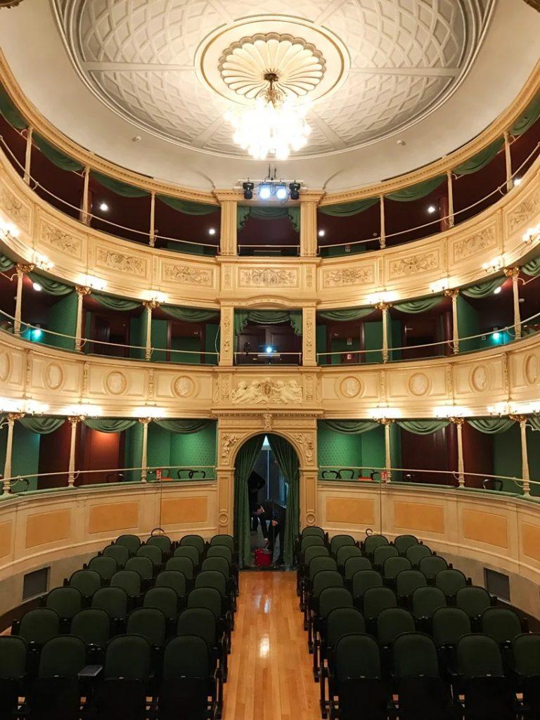 teatro gerolamo, milan © designboom /