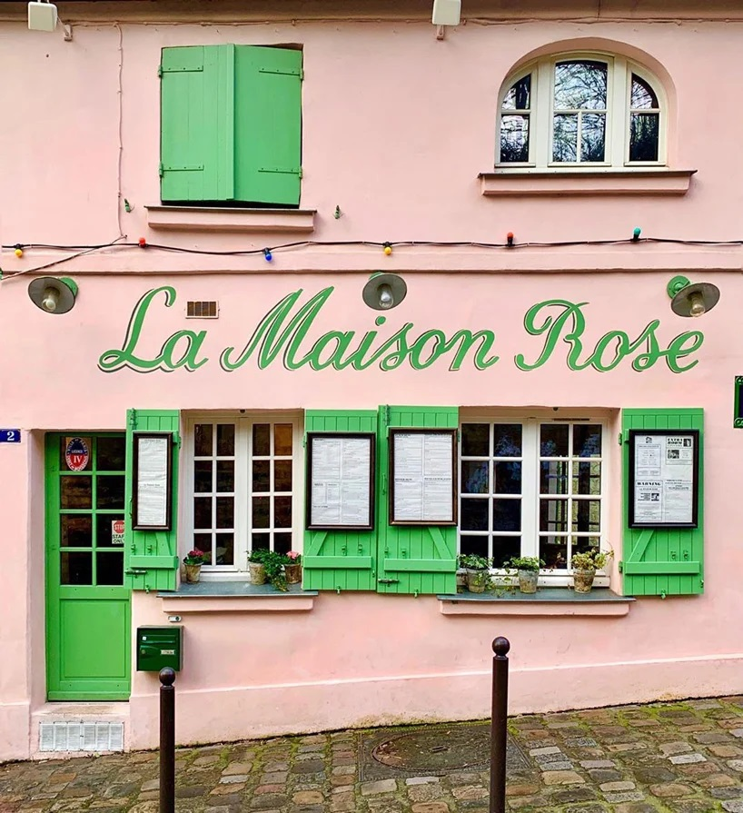 la maison rose, Paris, Francia x Nadia Mayne